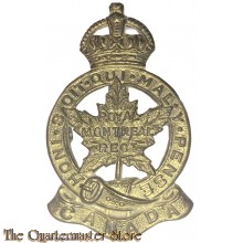 Cap badge Royal Montreal Regiment, (Roden)  2nd Canadian Division