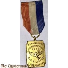 Medaille Bevrijdings Herdenkingstocht 1962 W.S.V. Liberty Vlaardingen