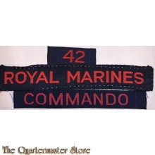 """Cash title"" 42nd Royal marine Commando"