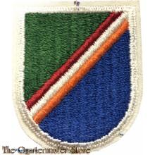 Beret flash 75th Ranger Regiment  (Old Design)