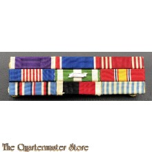 Large ribbon bar set US Army