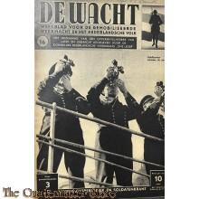 """Legerperiodiek en soldatenkrant """"de Wacht"""" no 16"""