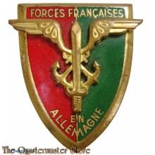 France - Badge Forces Françaises en Allemagne