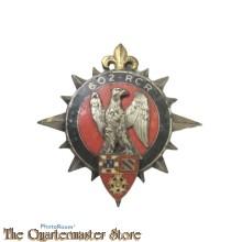 Badge France 602 th verkeers regiment (602 th CPR) Le 602e régiment de circulation routière