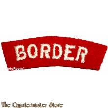 Shoulder flash The Border Regiment