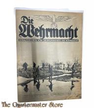 Magazine Die Wehrmacht 4e Jrg no 6 ,  13 marz 1940
