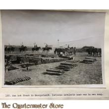 Press photo , front of Mesopotamia, Indian cavalry arriving at camp
