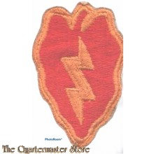 Mouwembleem 25th Infantry Division (Sleeve patch 25th Infantry Division)