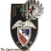 France - Insigne de l'Escadron de Commandement de Quartier Général du 14°RPCS de la 11° division parachutiste