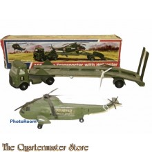 No 618 AEC Artic transporter with Helicopter boxed DT