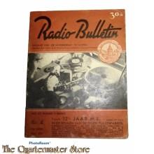 Radio Bulletin no 4 1943 de Muiderkring te Muiden in WW2