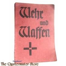 Buchlein/Booklet Wehr und Waffen , Lieder der Kampfenden Kirche