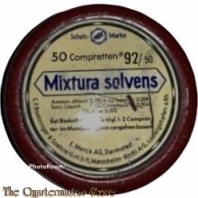 Blechdose, Mixtura Solvens, 50 Compretten