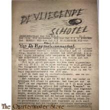 Onderdeelsblad van 32 R.G.G. no 2  ¨de Vliegende schotel¨