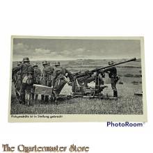 Postkarte 1940 Flakgeschutz ist in Stellung gebracht