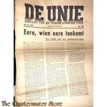 Krant de Unie no 45, 26 juni 1941