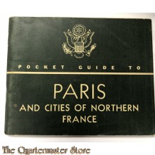 Pocket guide to Paris and the northern cities 1943