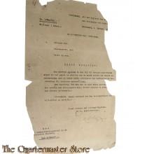 Uittreksel Register Gouveneur Oost Java 4 Jan 1950