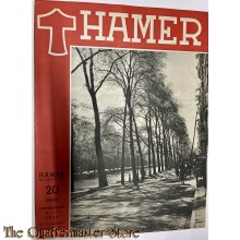 Maandblad de Hamer 4e jrg  no 8,  mei 1944