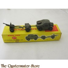 No 697 25 Pounder field gun set boxed DT