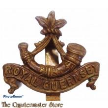 Cap badge Royal Guernsey Light Infantry