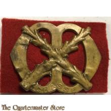 Baret embleem Regiment Chasse