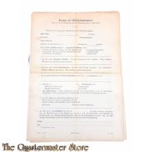 Anzeige fur Arbeitsbuch inhabers 1939