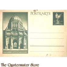 Postkarte Eingang zum schloss Museum in Berlin