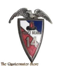 Insigne 14 Regiment Parachute Forez Béarn
