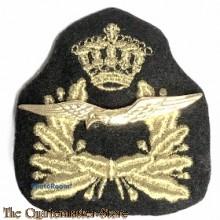 Pet-embleem GT/DT Koninklijke Militaire Academie – Cadetten-KLu 1e en 2e jaars