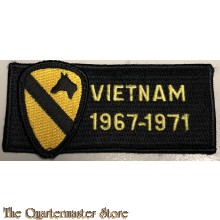 Blazer badge Vietnam 1967-1971 US 1st Cavalry