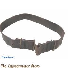 WW1 model P08 leren koppel (WWI British P08 pattern Leather Waist Belt)