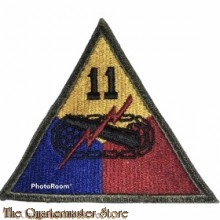 Mouwembleem 11th Armored Division (Sleevebadge 11th Armored Division)