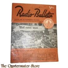 Radio Bulletin no 1 1944 de Muiderkring te Muiden