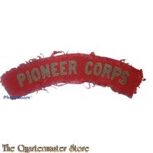 Royal Pioneer Corps (canvas)