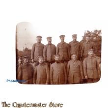 Foto (Mil. Postcard) 1914 German soldiers