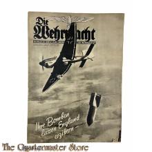 Magazine Die Wehrmacht 5e Jrg no 17,  14 aug 1940