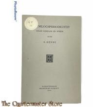 Brochure ; DE OORLOGSPERIODICITEIT haar oorzaak en wezen 1945