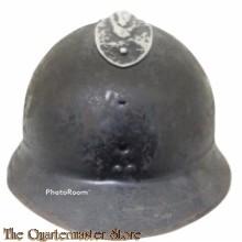France - Helm  M1926 Adrian Politie (Helmet M19 26 Adrian Police)