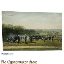 Postkarte 1914 Im Biwak