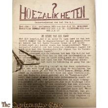 Onderdeelsblad van 32 R.G.G. no 0 (Hoe zal ik heten?)  ¨de Vliegende schotel¨
