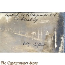 AnsichtsKarte (Mil. Postcard ) 1916  Feldlazaret no 6 in Osnabrug