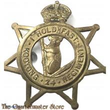 Cap badge 24th Inf Bat The Kooyong Regiment