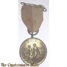 Medaille 20 KM  9 en 10 okt 1937 U.P.S.