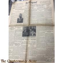 Krant de Telegraaf woensdag 2 october 1940