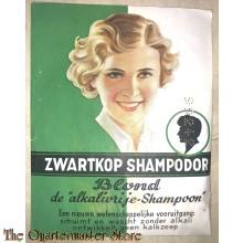 Zwartkop shampodor BLOND 1935-40