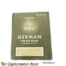 TM 30-606 GERMAN Phrase Book1943