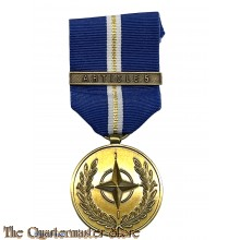 The NATO Medal with bar ARTICLE 5
