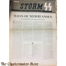 Weekblad Storm SS no 25 , 25 september 1942