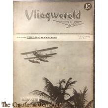 Vliegwereld jaargang 6 ,no 8 ,  21  maart 1940